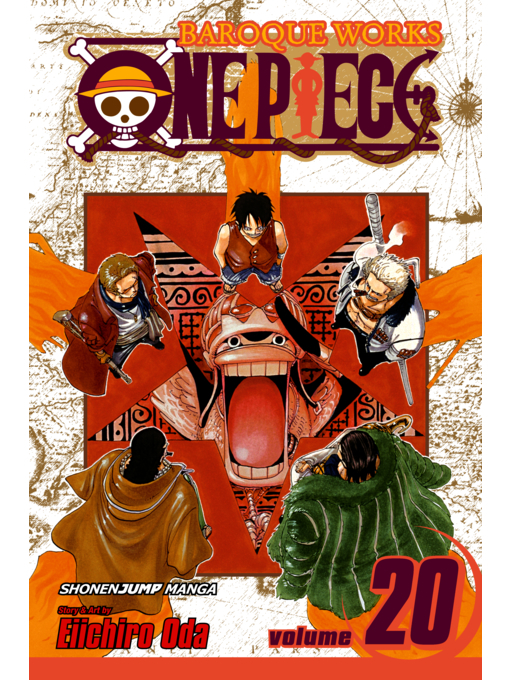 Cover of One Piece, Volume 20